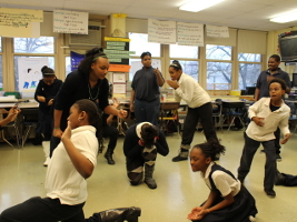 Language Arts Integrated Drama Lesson