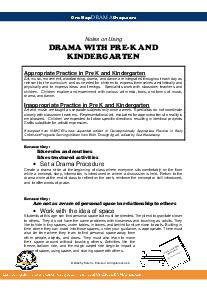 hints_on_using_drama_kindergarten